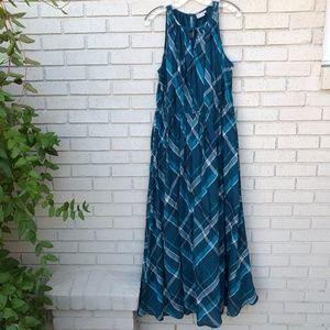 NWOT eShakti Plaid Dress - Women's 1X/18W